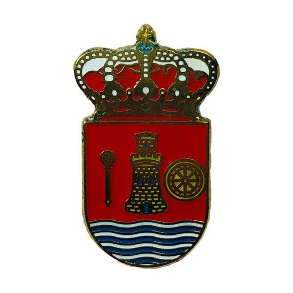 pin heraldico escudo alborge zaragoza