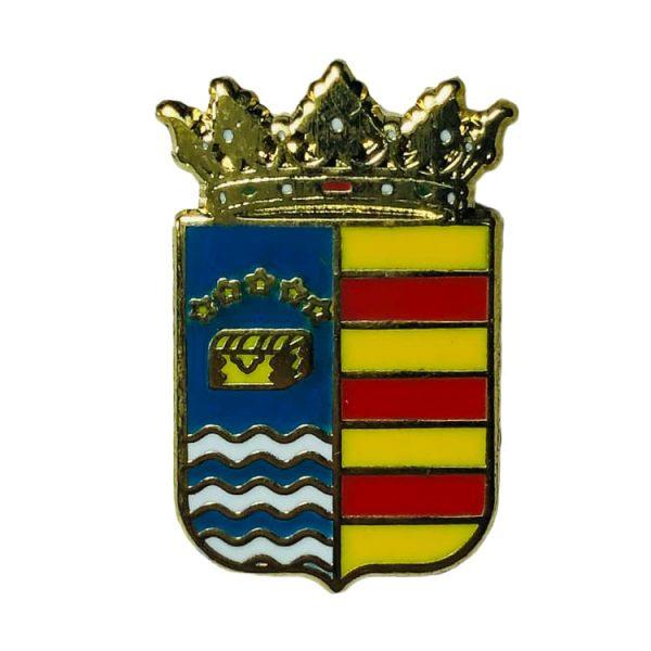 pin heraldico escudo alcaine teruel