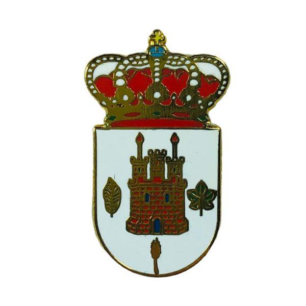pin heraldico escudo alcala de moncayo