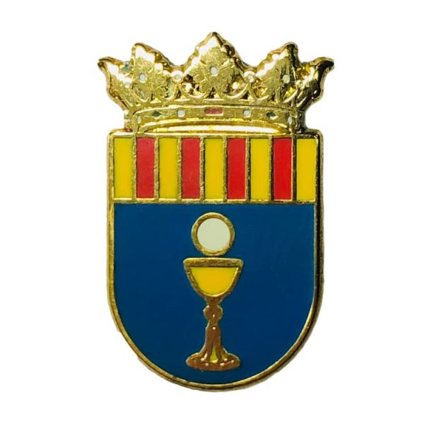 pin heraldico escudo alconchel de ariza zaragoza