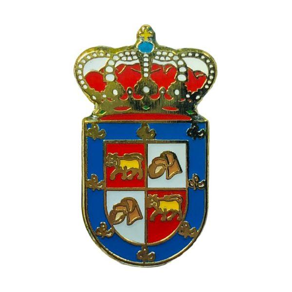 pin heraldico escudo aldeacipreste salamanca