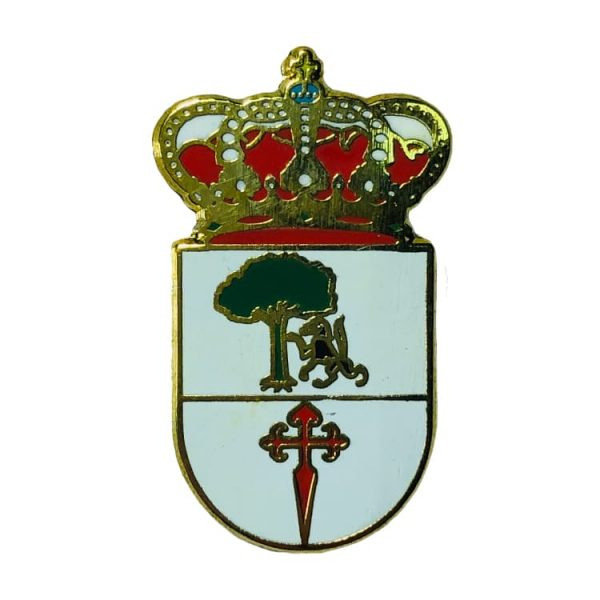 pin heraldico escudo aldeanueva de barbarroya toledo