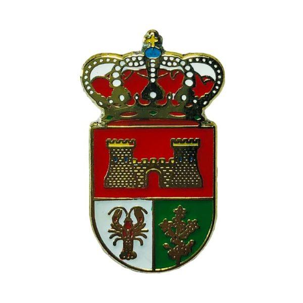 pin heraldico escudo aldeasona segovia