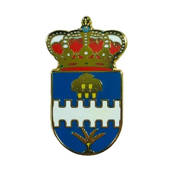 pin heraldico escudo aldehuela de liestos zaragoza