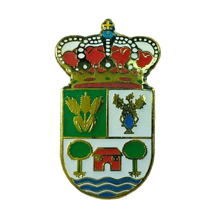 pin heraldico escudo antiguedad palencia