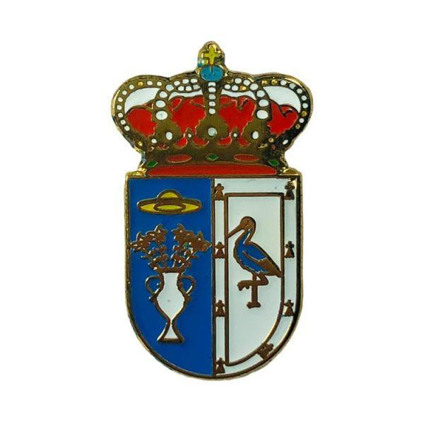 pin heraldico escudo arcicollar toledo