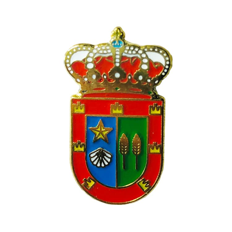 pin heraldico escudo arconada