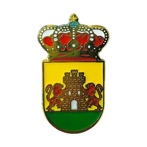 pin heraldico escudo arenas