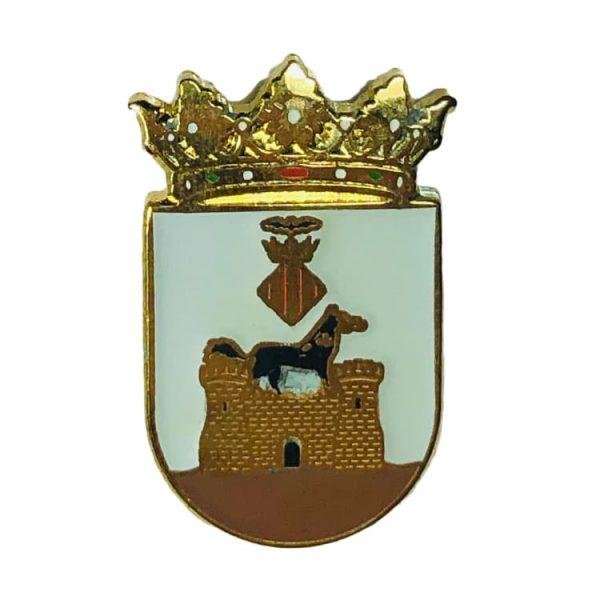 pin heraldico escudo benilloba alicante
