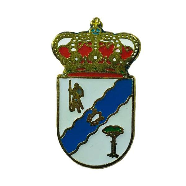 pin heraldico escudo bernuy zapardiel avila
