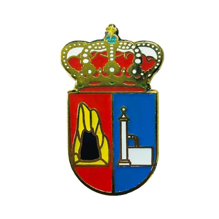 pin heraldico escudo carbonera leon