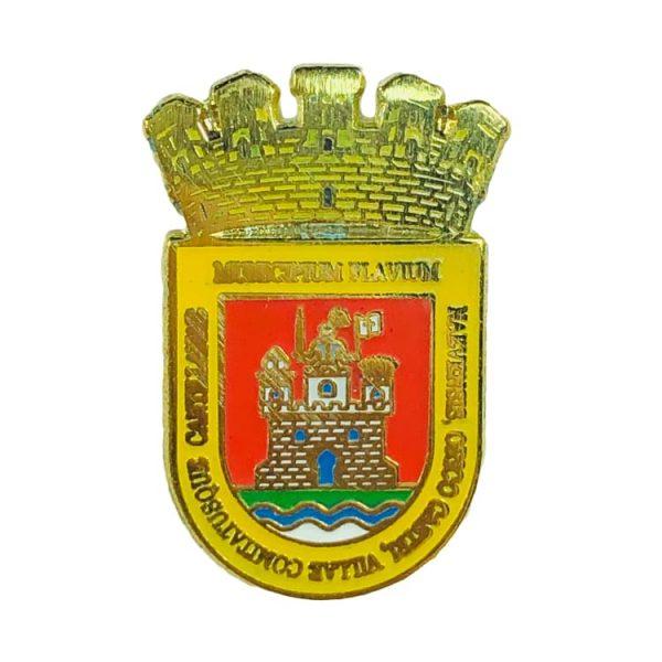 pin heraldico escudo castillana sevilla