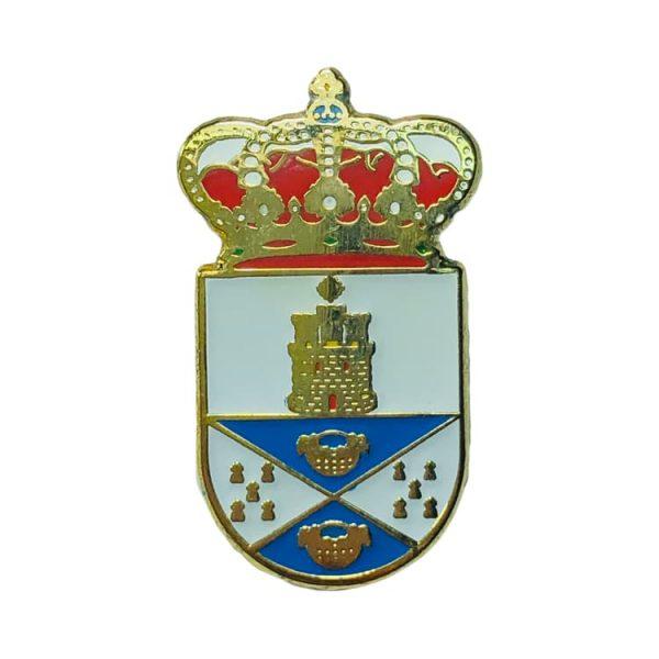 pin heraldico escudo castilleja de guzman sevilla