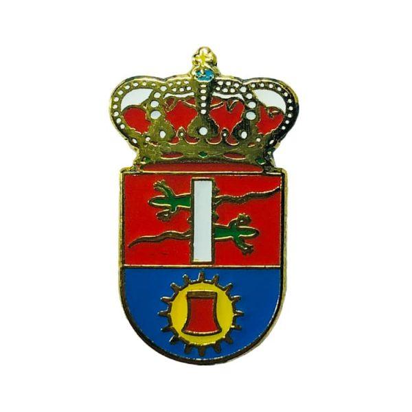 pin heraldico escudo cubillos de sil leon