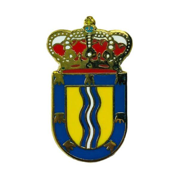 pin heraldico escudo dumbria la coruna