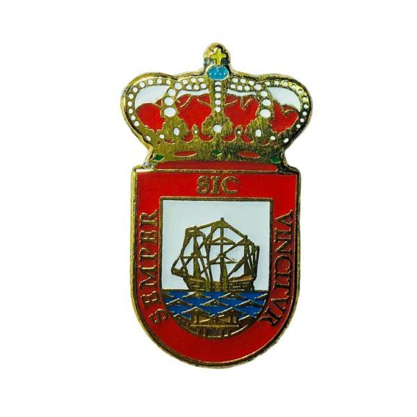 pin heraldico escudo el astillero