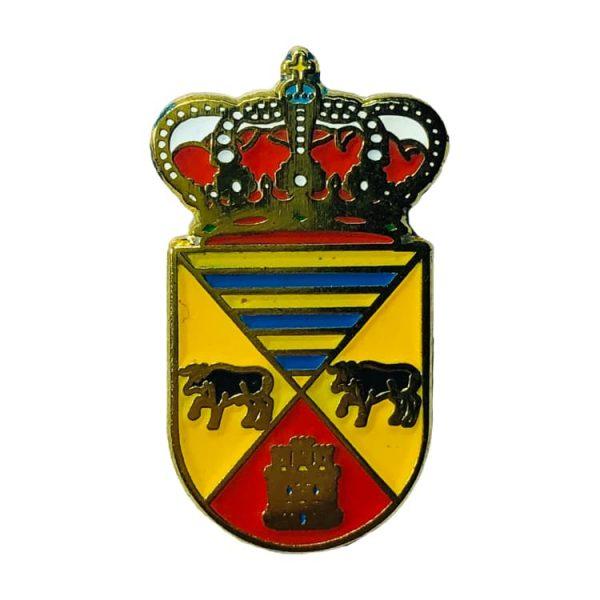 pin heraldico escudo el guijo cordoba