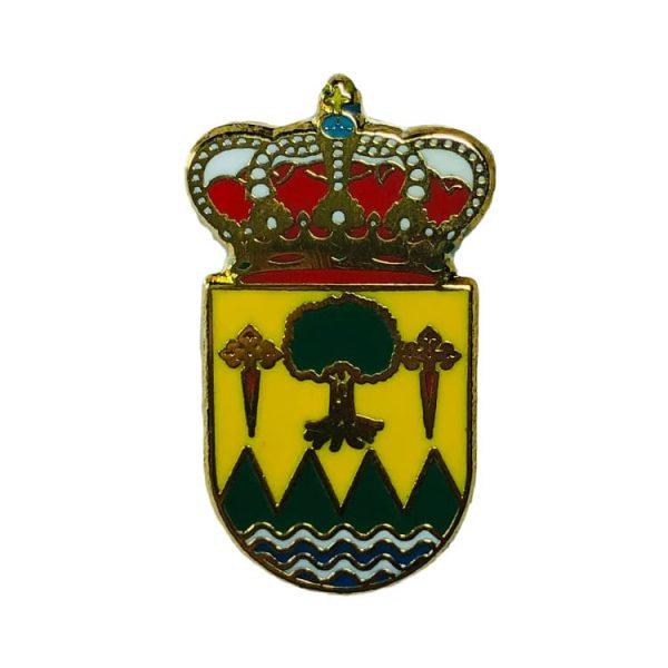 pin heraldico escudo folgoso do courel lugo