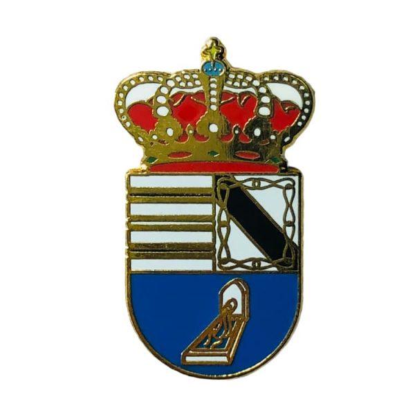 pin heraldico escudo fuente la lancha cordoba