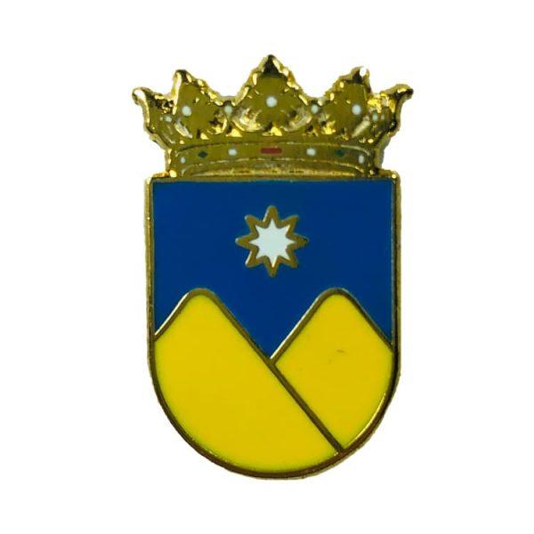pin heraldico escudo la vall d ebo alicante