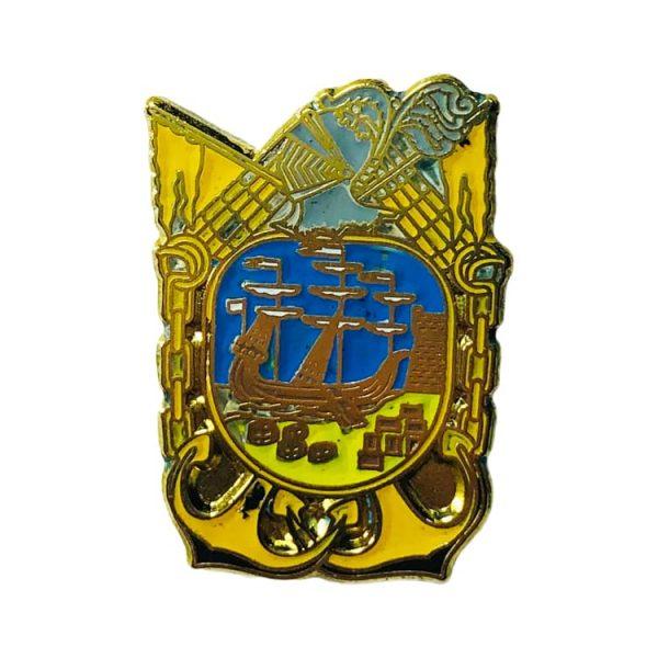 pin heraldico escudo limpias cantabria
