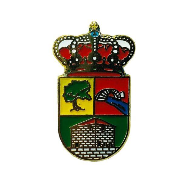 pin heraldico escudo los tojos