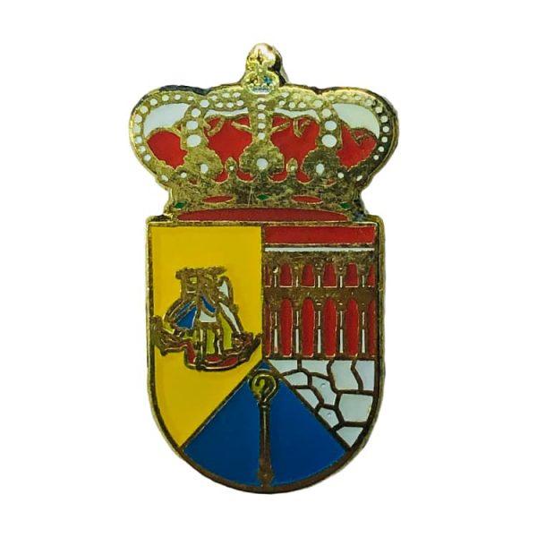 pin heraldico escudo munopedro segovia