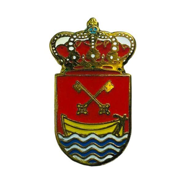pin heraldico escudo orinon castro urdiales