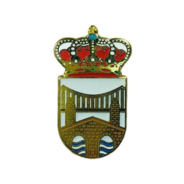 pin heraldico escudo pielagos