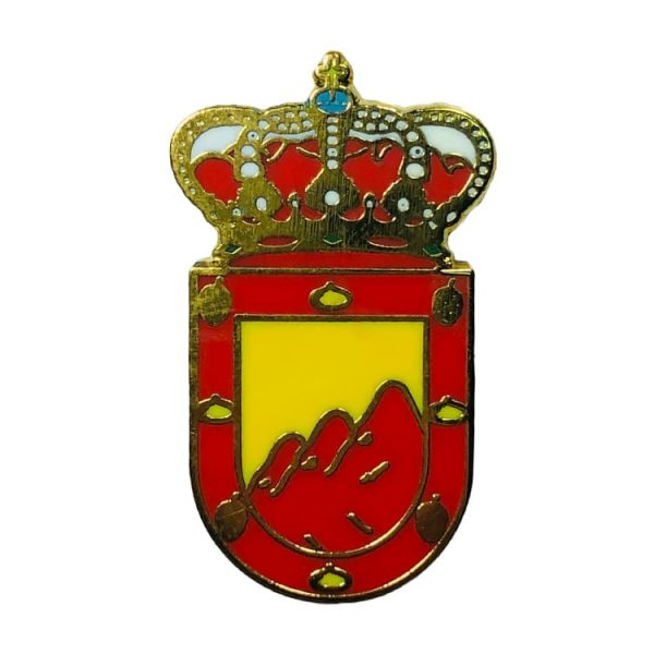 pin heraldico escudo pujera
