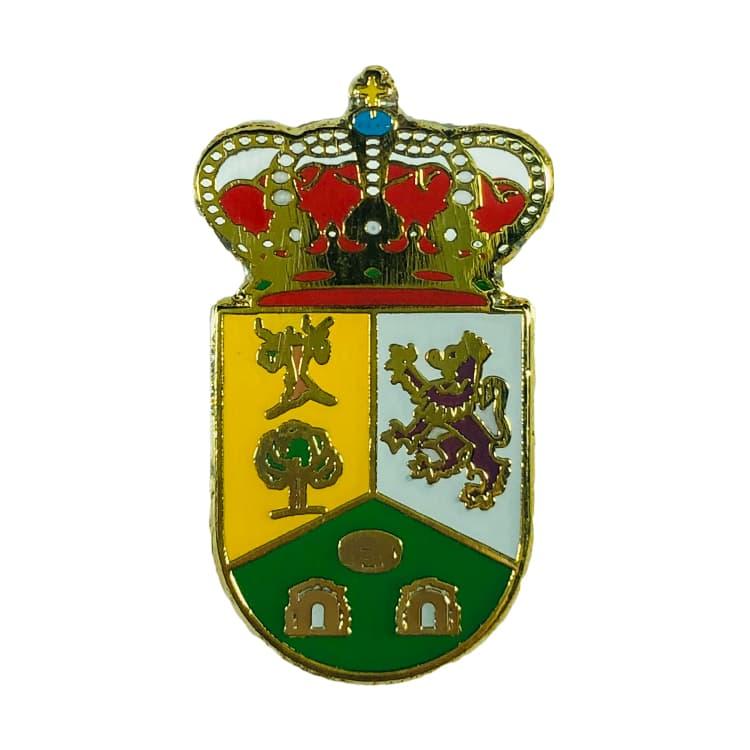 pin heraldico escudo san adrian del valle leon