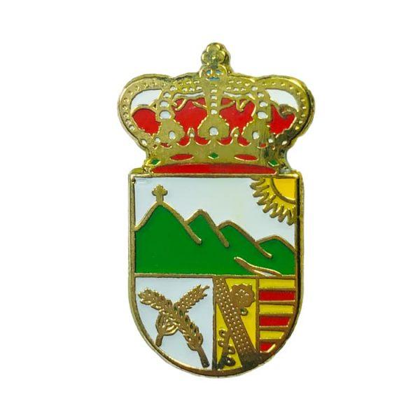 pin heraldico escudo sierra de yeguas malaga