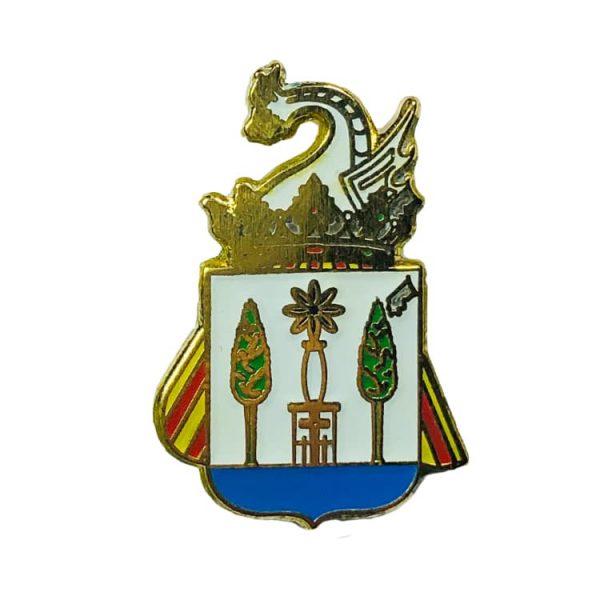 pin heraldico escudo titaguas valencia