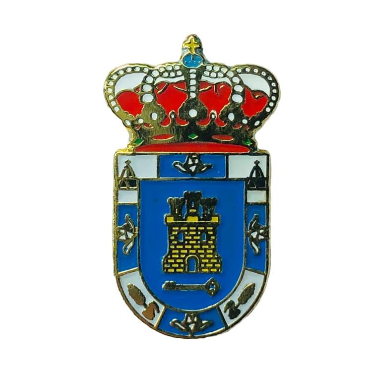 pin heraldico escudo torres de barbues