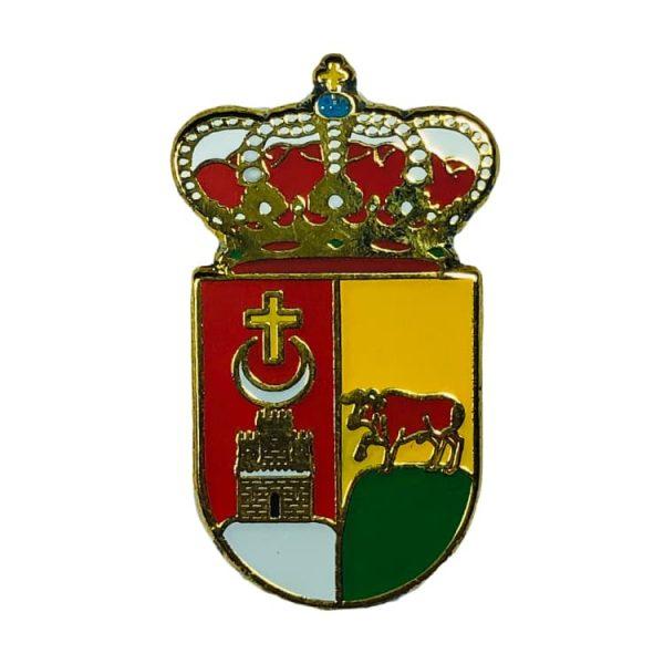 pin heraldico escudo vall de gallinera alicante