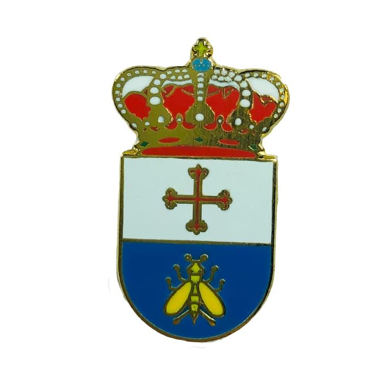 pin heraldico escudo valsequilla cordoba