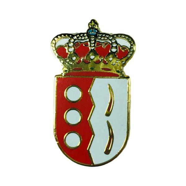 pin heraldico escudo villafranca de cordoba