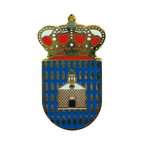 pin heraldico escudo villardondiego zamora