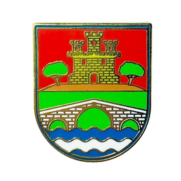 pin heraldico escudo villarejo de montalban toledo