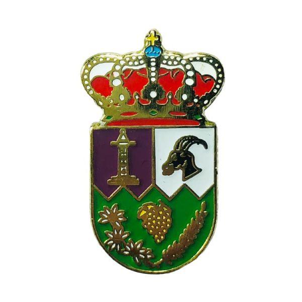 pin heraldico escudo villarejo del valle avila