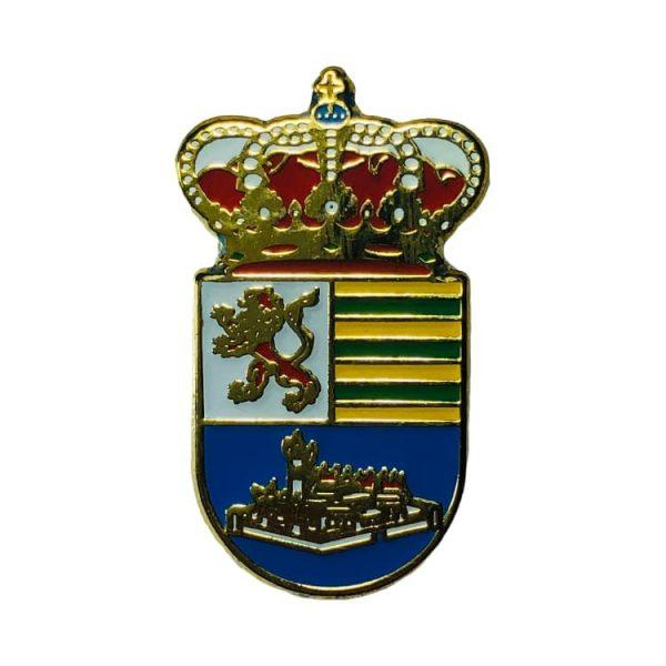 pin heraldico escudo villaseca de la sagra