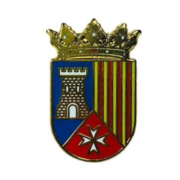 pin heraldico escudo villastar teruel