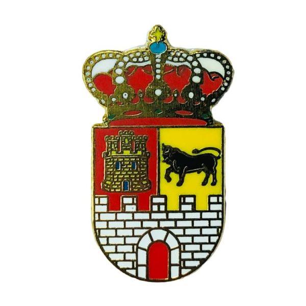 pin heraldico escudo villavaquerin valladolid
