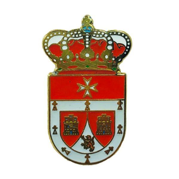 pin heraldico escudo villavellid valladolid