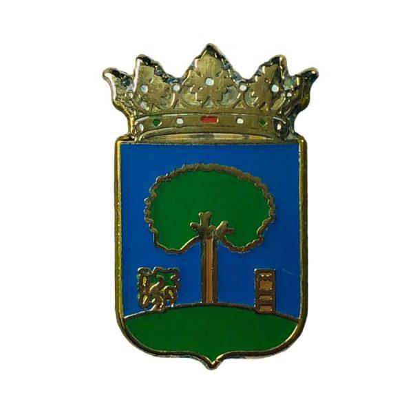 pin heraldico escudo villaviciona de cordoba