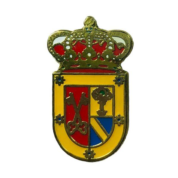 pin heraldico escudo villeguillo segovia