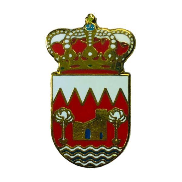 pin heraldico escudo villora cuenca