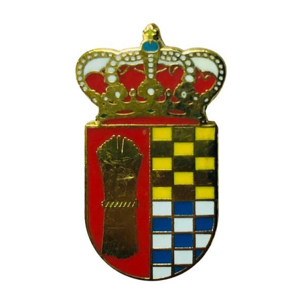 pin heraldico escudo villoruela salamanca