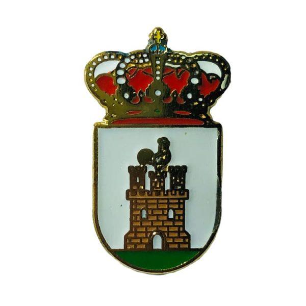 pin heraldico escudo visiedo teruel