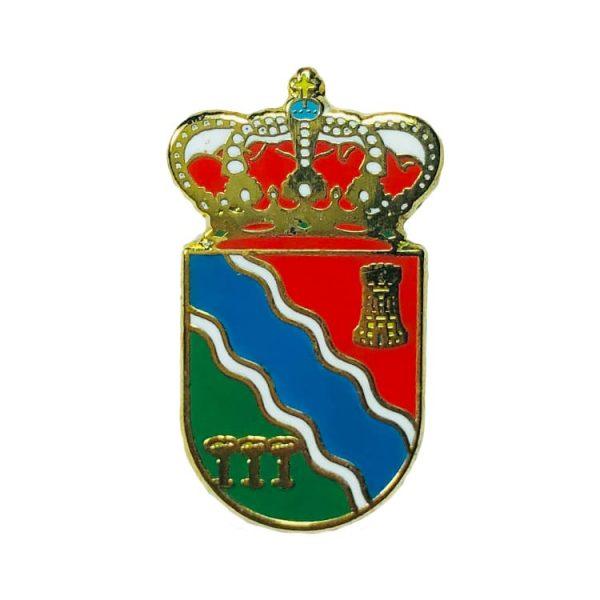 pin heraldico escudo yemeda cuenca